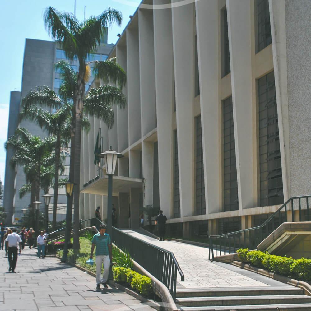 07 De Março: Inauguração Da Biblioteca Pública Do Paraná