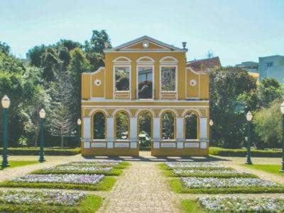 29 De Março: Inauguração Do Bosque Alemão