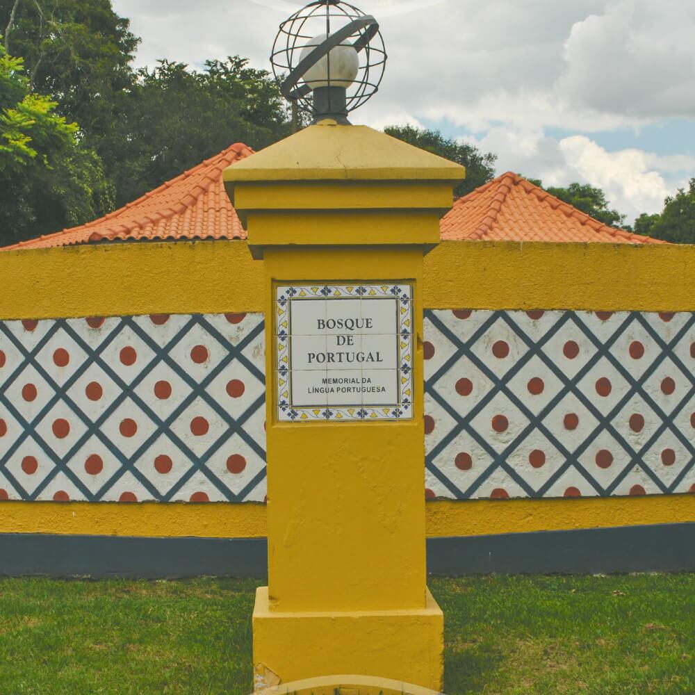 19 De Março: Inauguração Do Bosque De Portugal