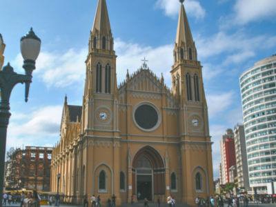 08 De Setembro: Inauguração Da Catedral De Curitiba