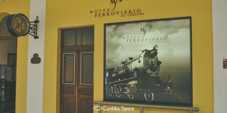 Estação da Estrada de Ferro de Curitiba e Viaduto João Negrão - Curitiba Space