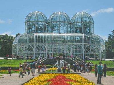 05 De Outubro: Fundação Do Jardim Botânico De Curitiba