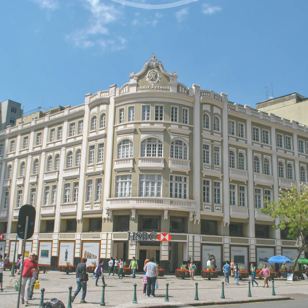 04 De Abril: Inauguração Do Palácio Avenida