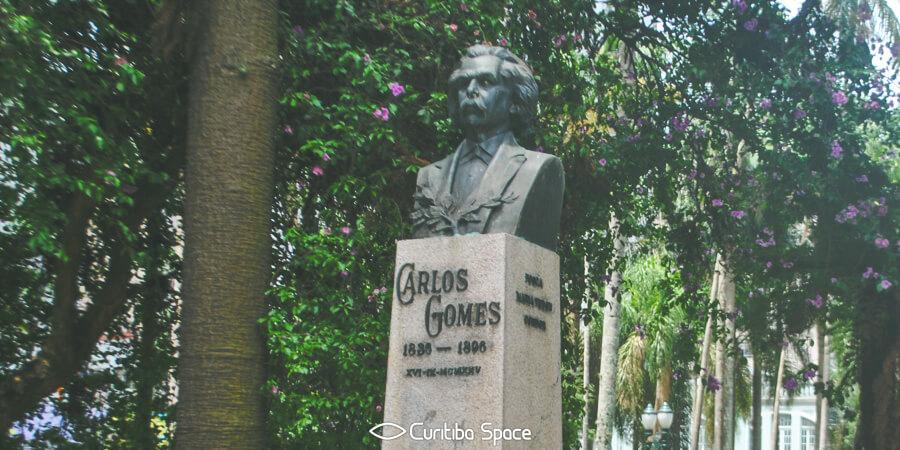 Praça Carlos Gomes - Curitiba Space