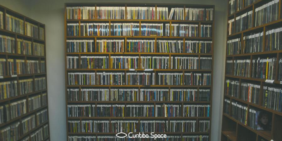 Acervo da Discoteca da E-Paraná - Curitiba Space