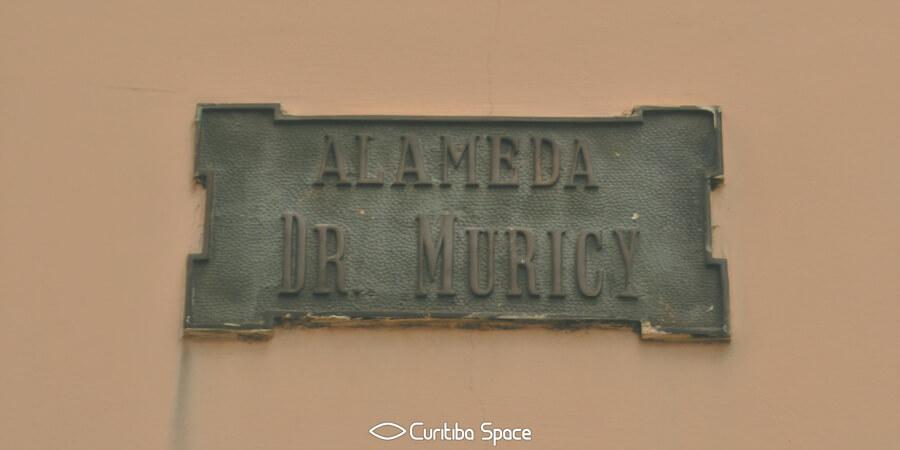 As primeiras ruas de Curitiba - Alameda Dr. Muricy - Curitiba Space