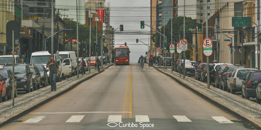 As primeiras ruas de Curitiba - Avenida João Gualberto - Curitiba Space