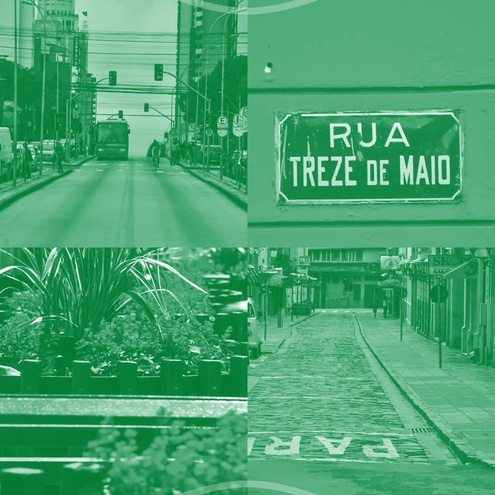 As Primeiras Ruas De Curitiba