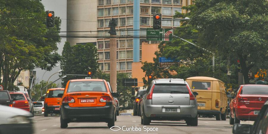 As primeiras ruas de Curitiba - Rua Barão do Serro Azul - Curitiba Space