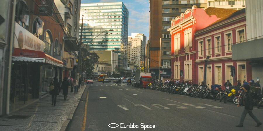 As primeiras ruas de Curitiba - Rua Emiliano Perneta - Curitiba Space