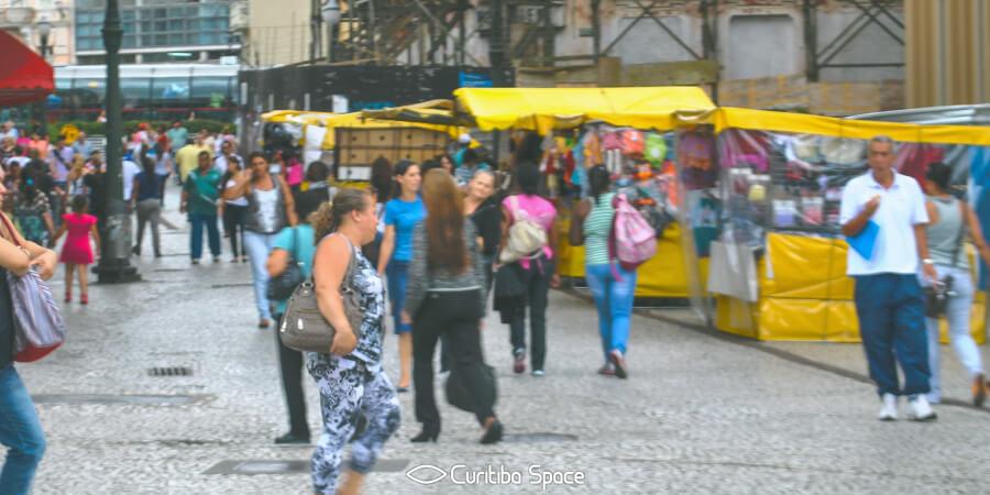 As primeiras ruas de Curitiba - Rua José Bonifácio - Curitiba Space