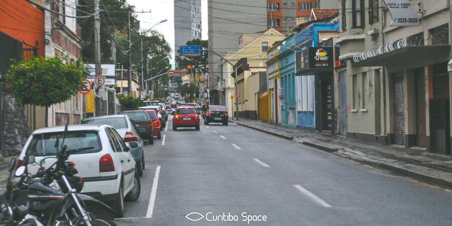 As primeiras ruas de Curitiba - Rua Presidente Carlos Cavalcanti - Curitiba Space