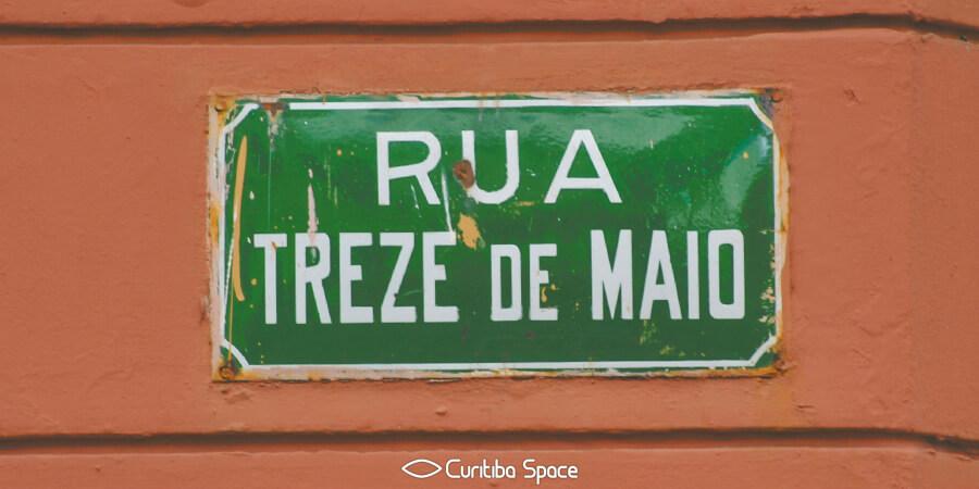 As primeiras ruas de Curitiba - Rua Treze de Maio - Curitiba Space