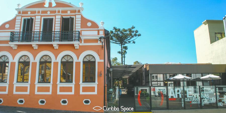 Café e Livraria Solar do Rosário - Gastronomia Curitiba - Curitiba Space