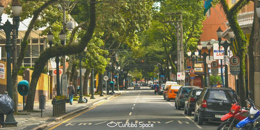Conjunto Urbano da Rua Comendador Araújo - Curitiba Space