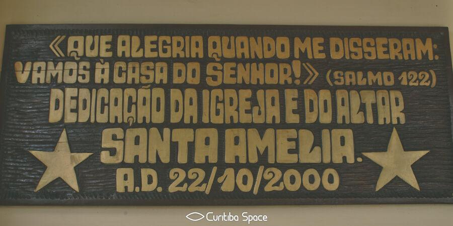Especial Instituições Religiosas - Paróquia Santa Amélia - Curitiba Space
