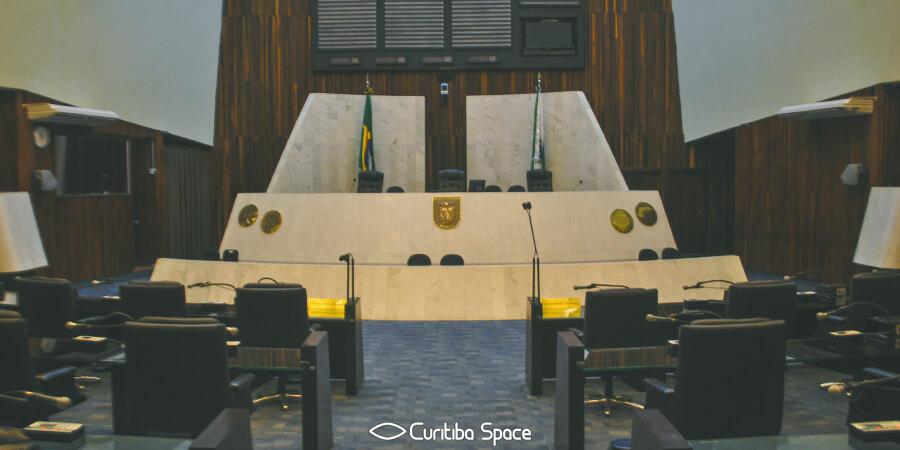 Especial Palácios em Curitiba - Palácio 19 de Dezembro - Assembleia Legislativa do Paraná - Curitiba Space