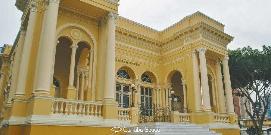 Especial Palácios em Curitiba - Palácio Rio Branco - Câmara dos Vereadores de Curitiba - Curitiba Space