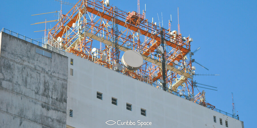 Especial Palácios em Curitiba - Palácio das Telecomunicações - Curitiba Space