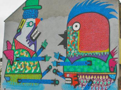 Galeria A Céu Aberto No Tatuquara – Japem, Auma E Silvio