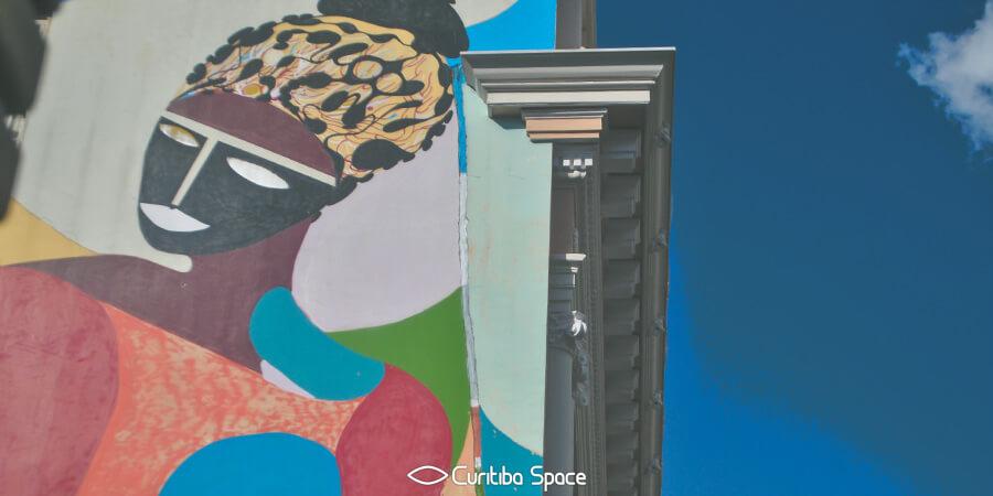 Grafite na Casa Hoffmann - Rimon Guimarães - Arte Urbana em Curitiba - Curitiba Space