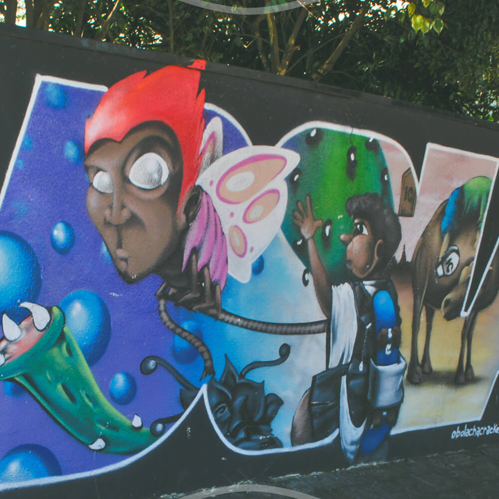 Grafite Na Rua 24 De Maio – Bolacha