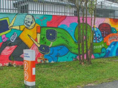 Grafite Na Rua Euclides Bandeira – Jorge Galvão