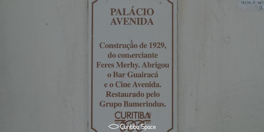 Palácio Avenida - Cinemas Antigos de Curitiba - Cine Avenida - Curitiba Space