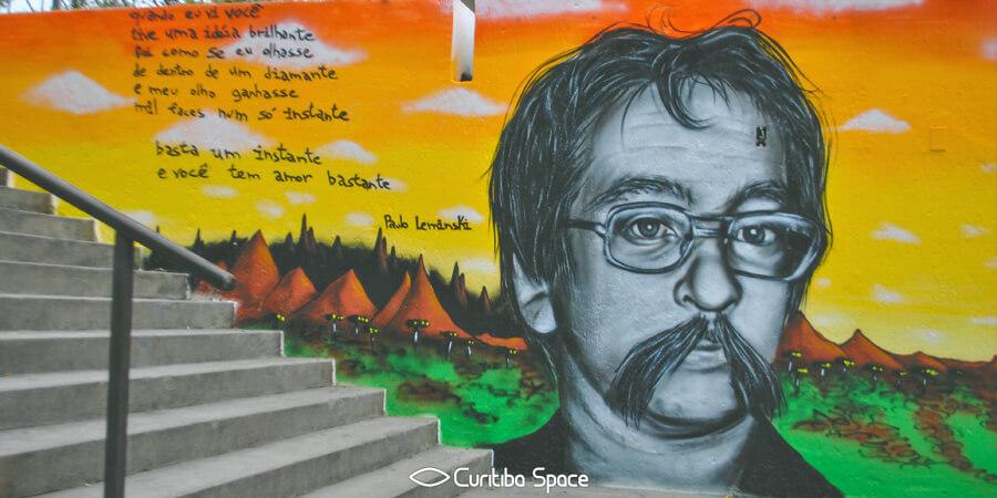 Paulo Leminski - Arte na Galeria Julio Moreira - Michael Devis e João Marcos - Curitiba Space