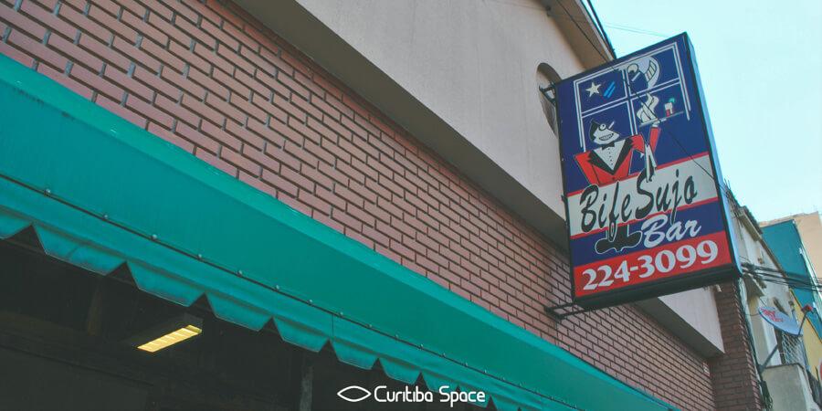 Paulo Leminski - Bar Bife Sujo - Curitiba Space