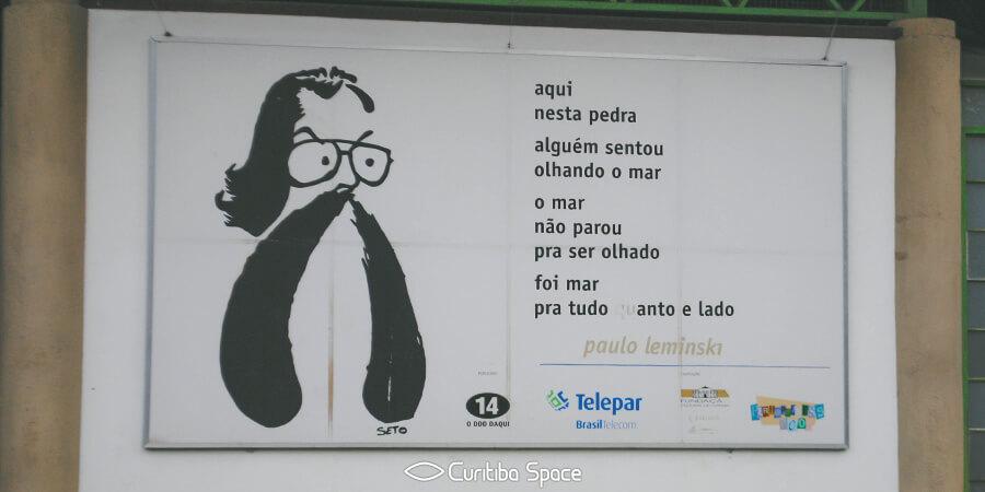 Paulo Leminski - Pedreira Paulo Leminski - Curitiba Space