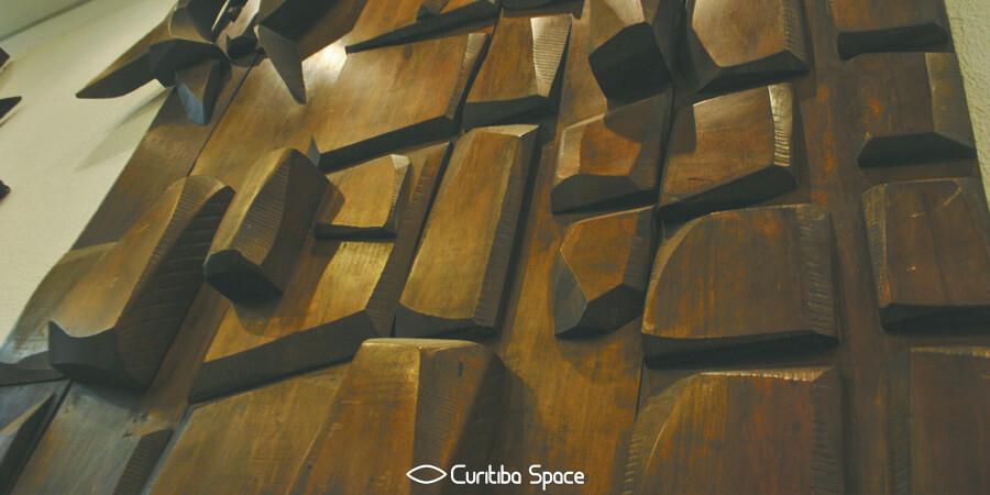 Poty Lazzarotto - A Comunicação - Portão Cultural - MuMA - Curitiba Space
