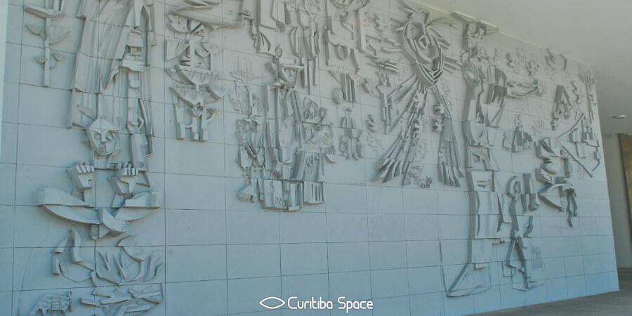 Poty Lazzarotto - Alegorias ao Paraná - Palacio Iguaçu - Curitiba Space