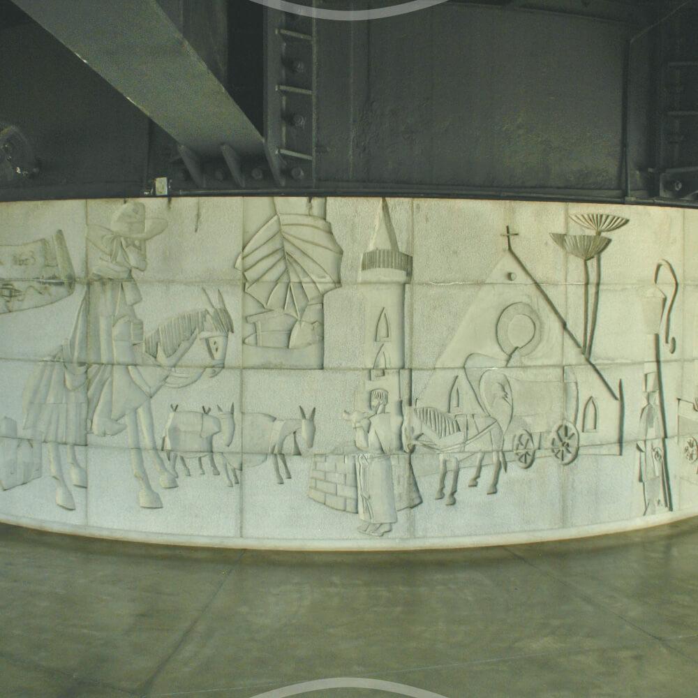 25 De Novembro: Fundação Do Painel De Poty Lazzarotto Na Torre Panorâmica