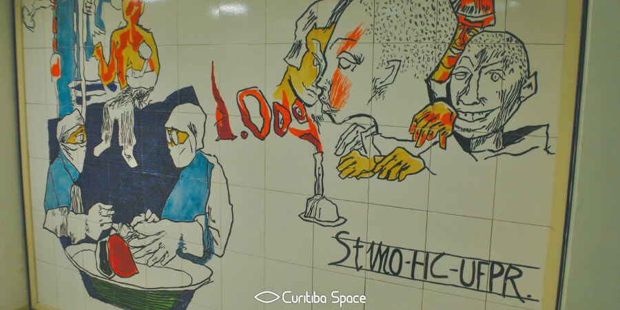 Poty Lazzarotto - Evolução Hospitalar - Hospital de Clínicas - Curitiba Space
