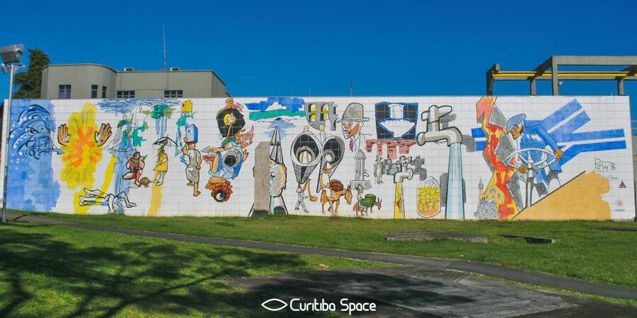 Poty Lazzarotto - Evolução do Saneamento Básico - Alto da XV - Curitiba Space