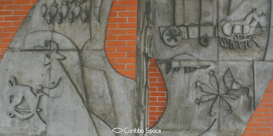 Poty Lazzarotto - História do Paraná - Secretaria de Estado da Fazenda - Curitiba Space