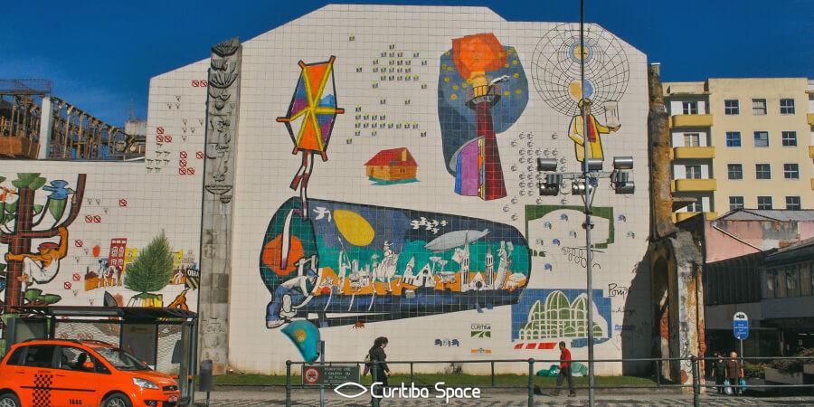 Poty Lazzarotto - Imagens da Cidade - Tv. Nestor de Castro - Curitiba Space