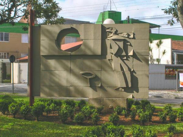 "Poty: ""Monumento Ao Ferroviário"""