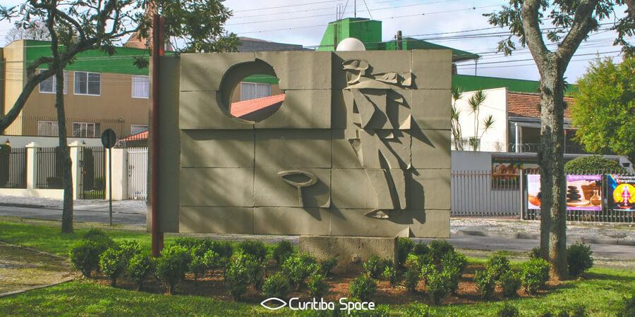 Poty Lazzarotto - Monumento ao Ferroviário - Largo Isaac Lazzarotto - Curitiba Space