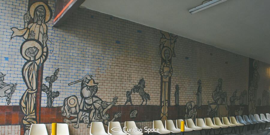 Poty Lazzarotto - O Bom Samaritano - Hospital de Clínicas - Curitiba Space