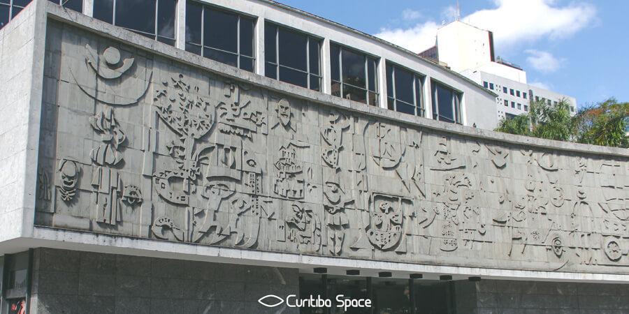 Poty Lazzarotto - O Teatro no Mundo - Teatro Guaíra - Curitiba Space