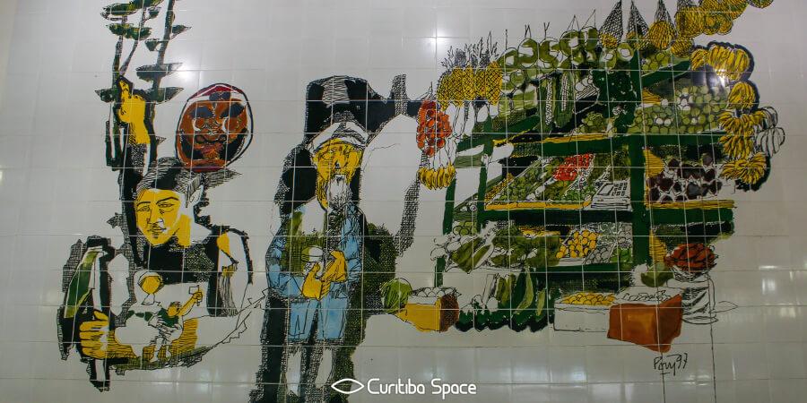 Poty Lazzarotto - Quitandeiro - Mercado Municipal - Curitiba Space