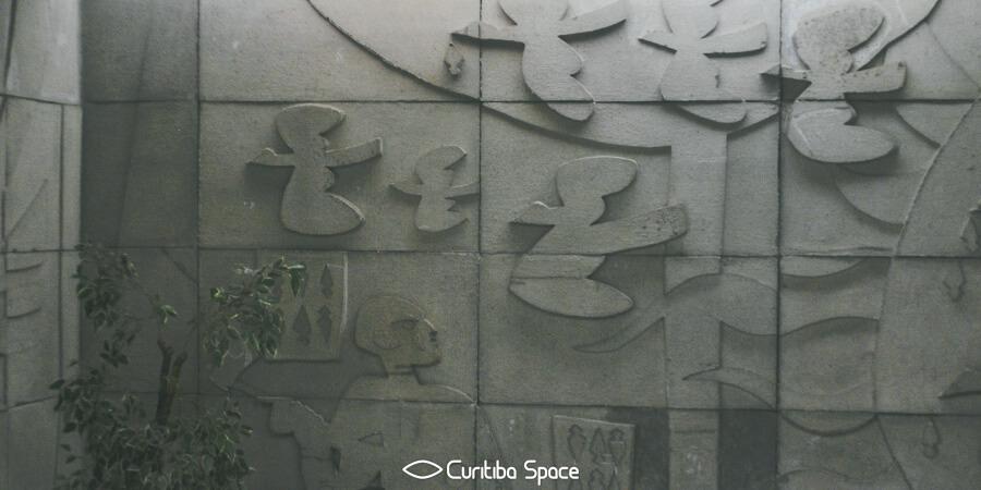 Poty Lazzarotto - Símbolos do Paraná - Assembleia Legislativa do Paraná - Curitiba Space