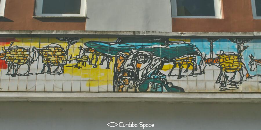 Poty Lazzarotto - Tropeiro - Largo da Ordem - Curitiba Space