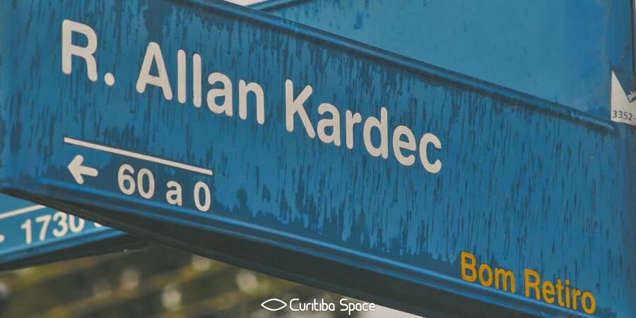 Quem foi: Allan Kardec - Curitiba Space