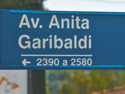 30 De Agosto: Nascimento De Anita Garibaldi