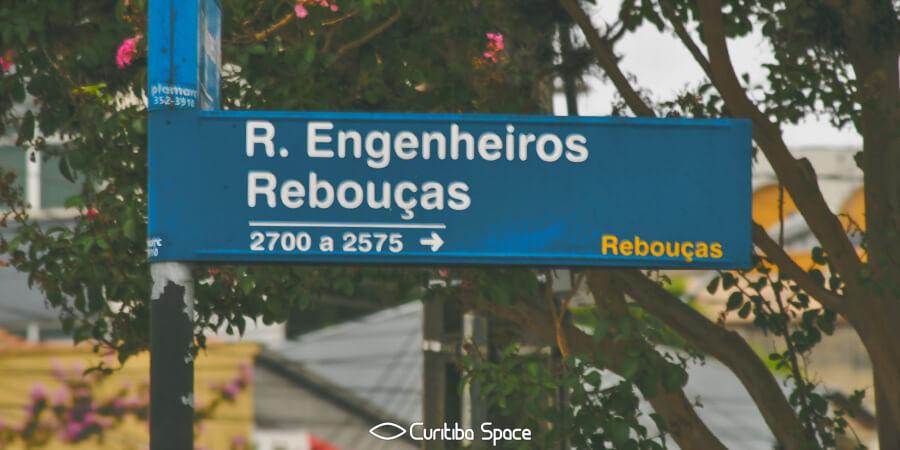 Quem foi: Antônio Pereira Rebouças Filho - Rua Engenheiros Rebouças - Curitiba Space