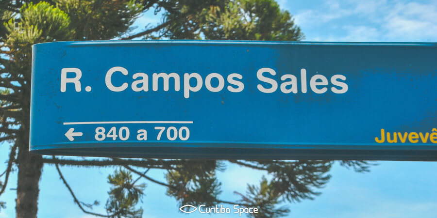 Quem foi: Campos Sales - Curitiba Space