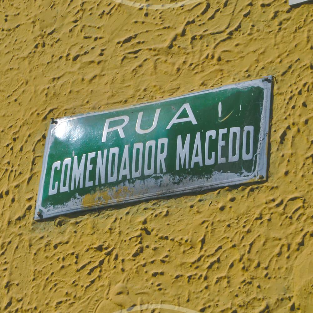 12 De Agosto: Nascimento De Comendador Macedo